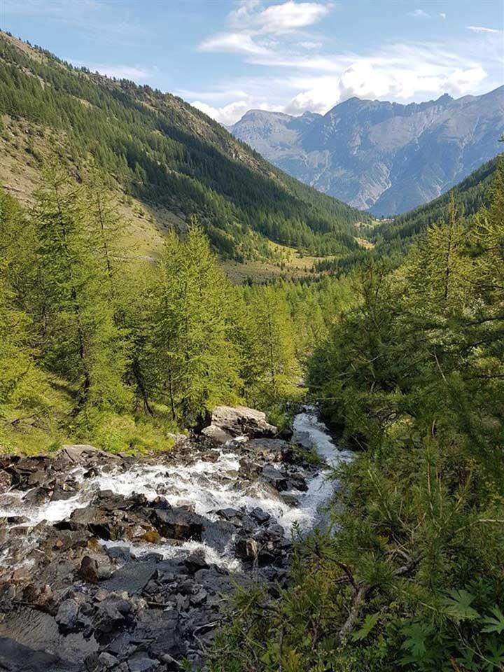 De jolies cascades au Vallon de Narreyroux