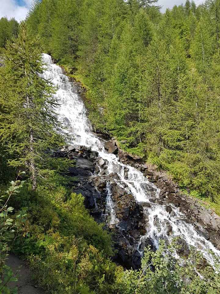 Les cascades du Vallon de Narreyroux