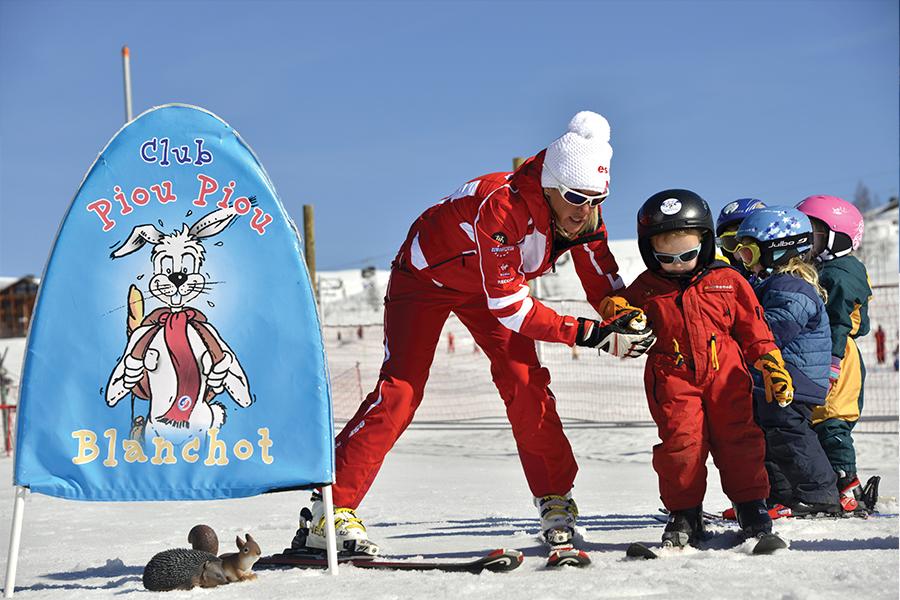 Ecole de Ski à Puy St Vincent