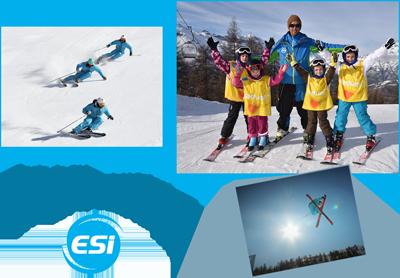 Ecole de Ski au Puy Saint Vincent
